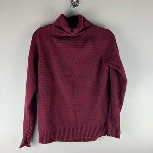 C&C California Burgundy Turtleneck Sweater sz. M